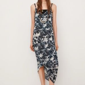 NWT Zara Tie-Dye Printed Small Summer Dress